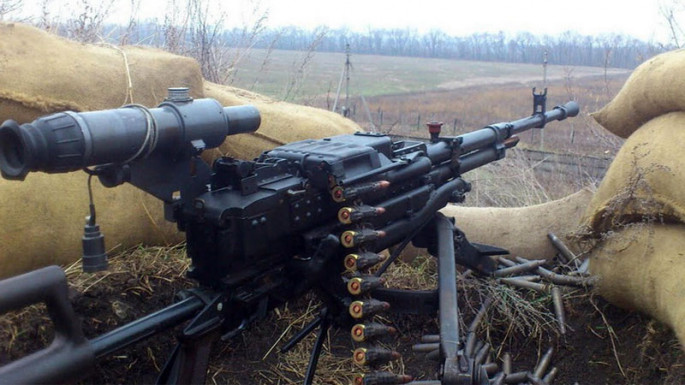 Enemy subjects to artillery fire the city of Terter