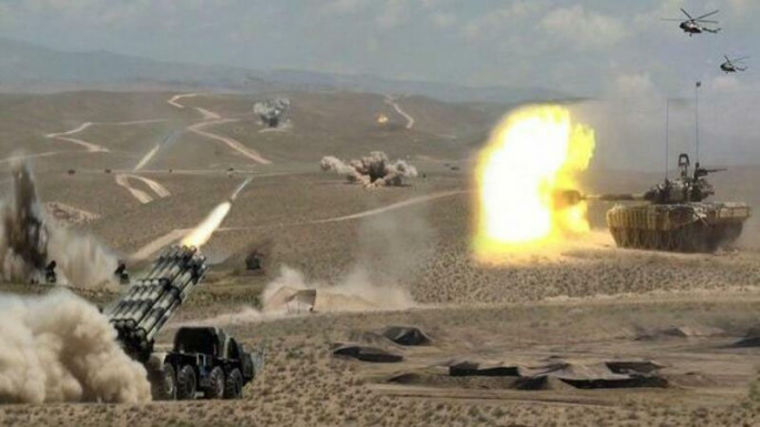 Ministry of Defense of Azerbaijan: The 4th battalion of the enemy stationed in the Fuzuli direction was shelled