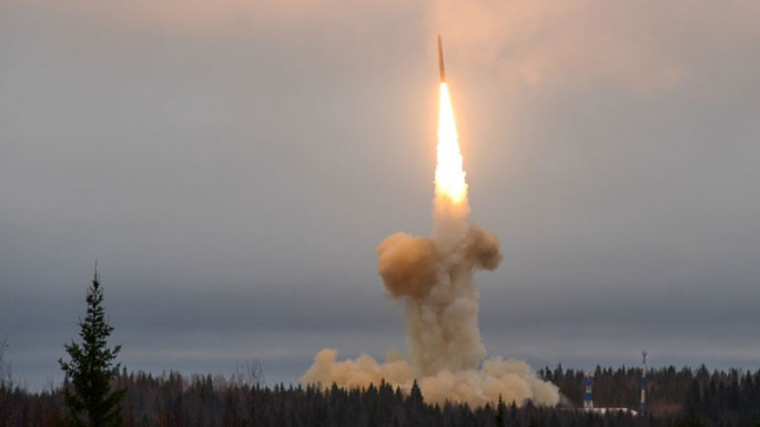Armenia launched NATO Code name SCUD ballistic missile to Mingachevir city of Azerbaijan (VIDEO)