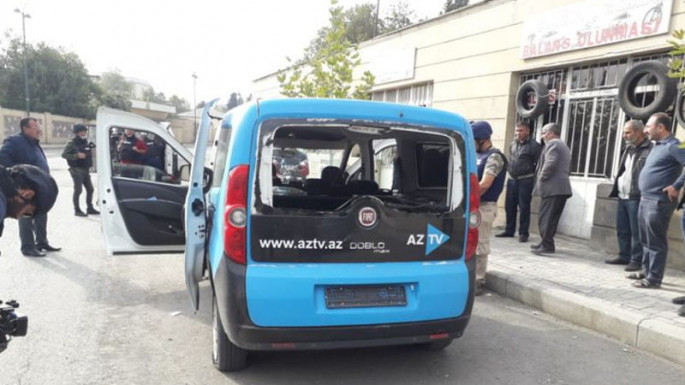 Armenians subjected to firing AzTV's car, one injured (PHOTO)