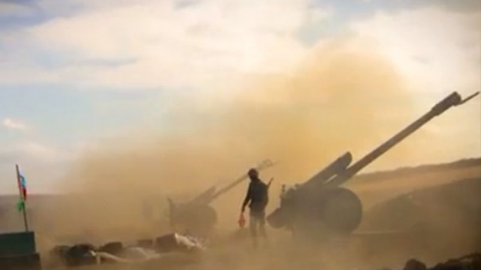 Artillery units of the Azerbaijan Army continue to inflict crushing blows on the enemy (VİDEO)
