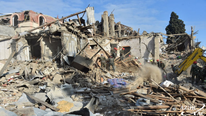 65 civilians, including 10 children killed as a result of Armenian provocations since Sept. 27