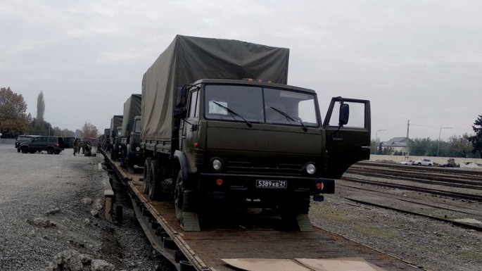 Activities on the provision of the peacekeeping contingent of the Russian Federation are being held (PHOTO/VIDEO)