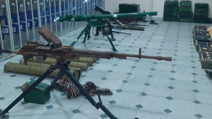 Weapon and ammunition left by Armenian armed units found in Sugovushan (PHOTO)