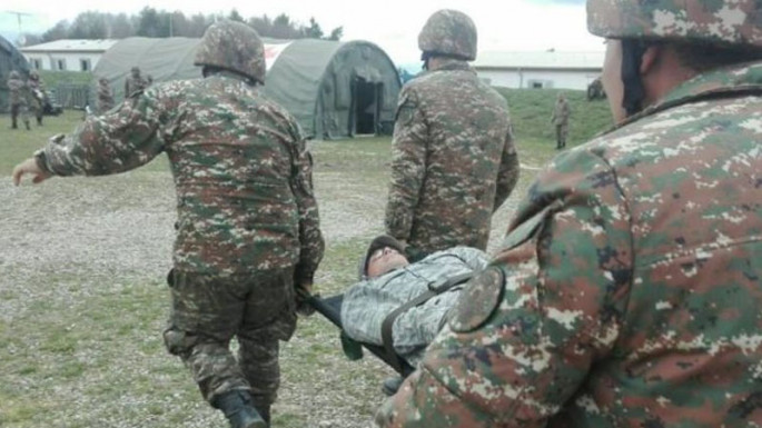 Azerbaijan handed over bodies of two Armenian servicemen to other side
