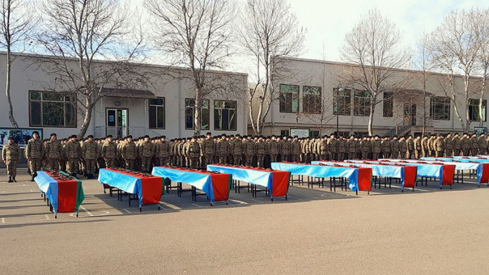 A Military Oath taking ceremonies were held in the Azerbaijan Army (PHOTO)