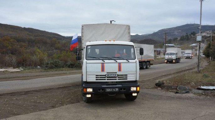 Amount of humanitarian aid Russia sent to Karabakh unveiled