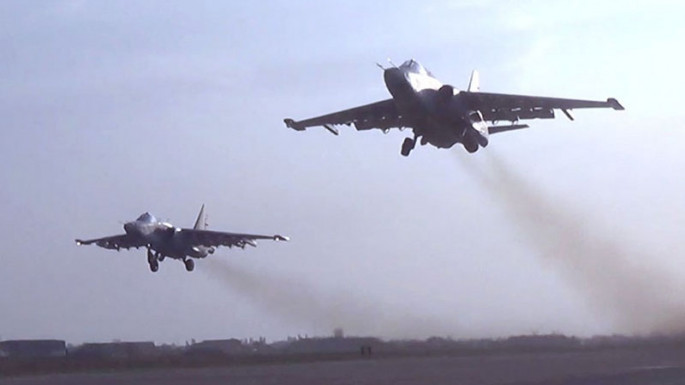 Azerbaijani MoD releases video footage reflecting airstrikes on the enemy during the Patriotic War (PHOTO/VIDEO)