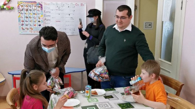 Charity event held at an orphanage in Moscow with Leyla Aliyeva's initiative (PHOTO)