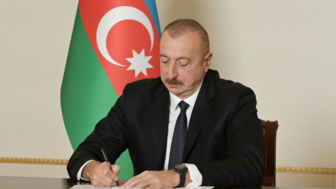 President Ilham Aliyev signs an order on holding European Football Championship in Baku