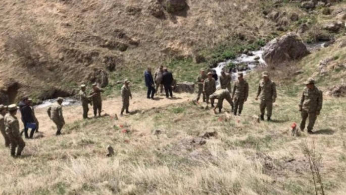 Remains of bodies of 12 persons, killed by Armenians during occupation of Kalbajar, detected (PHOTO)