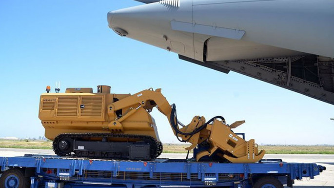 Mine cleaning equipment delivered from Turkey to Azerbaijan (PHOTO/VIDEO)