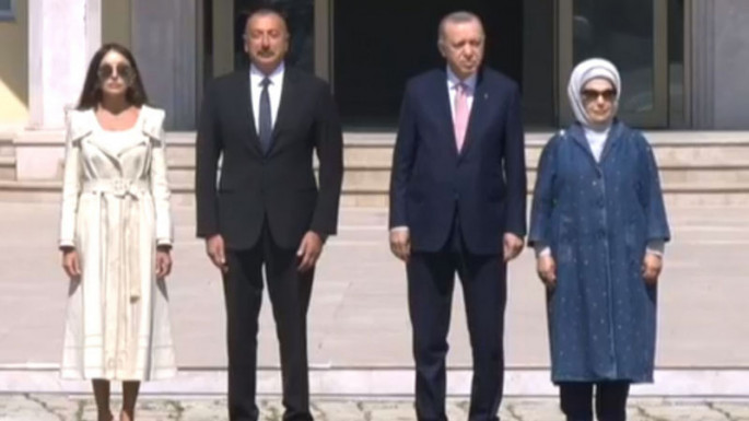 Official welcome ceremony is being held for Turkish President Recep Tayyip Erdogan in Shusha (VIDEO)