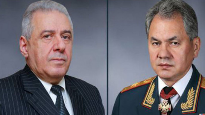 Shoigu discussed the issue of deploying Russian border guards to Armenia-Azerbaijan border with his Armenian counterpart