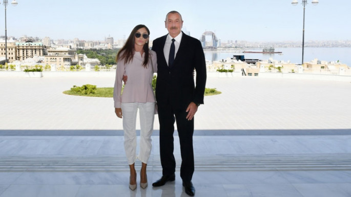 President Ilham Aliyev views conditions created at Gulustan Palace after reconstruction