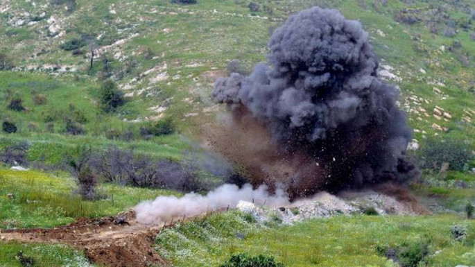 Two persons step on mine in liberated area of Khojaly from occupation