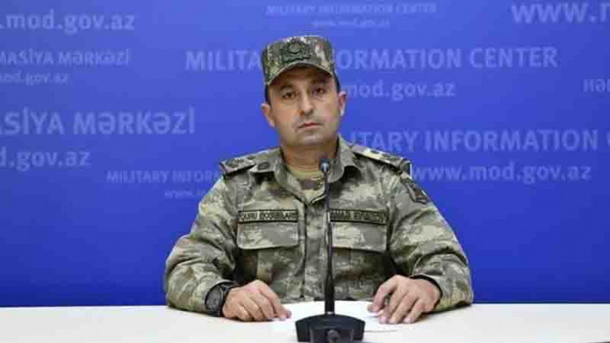 Azerbaijani Defense Ministry: It is not clear that the Russian Defense Ministry presented the information in a completely different form