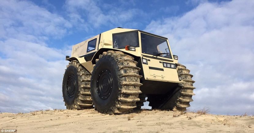 The bizarre 'mini monster truck' that can go anywhere